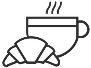 Symbol Brötchenservice, Ferienwohnungen Sankt Englmar